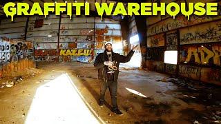 Abandoned Graffiti Warehouse - FPV Freestyle - Ripper Squad