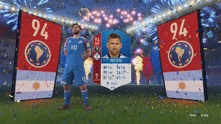 WORLD CUP MODE! GUARANTEED ICON SBC & CRAZY PACK OPENING! FIFA 18 WORLD CUP MODE