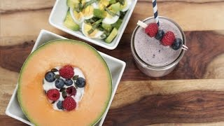 3 No-Bake Breakfast Recipes for Weight Loss