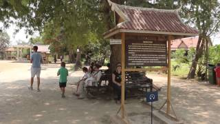 preview picture of video 'Visit to Choeung Ek Genocidal Center (Killing Fields), Cambodia'