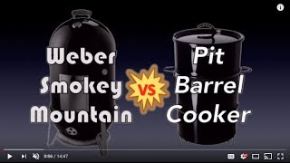 Hanging ribs in the Weber Smokey Mountain & comparing it to the PBC   Road to Rib Town - Ep 10