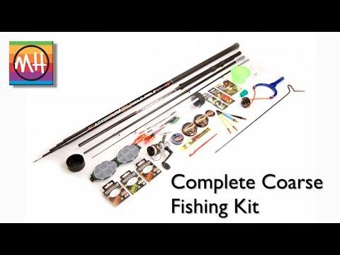 Amazing new Complete Coarse Fishing Kit from Matt Hayes