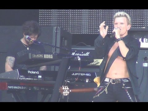 Billy Idol - L.A. Woman - (The Doors Cover) - Live Hellfest 2015