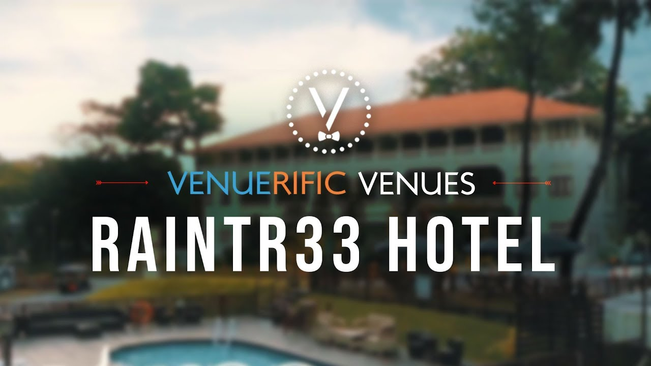 Raintr33 Hotel Singapore video preview