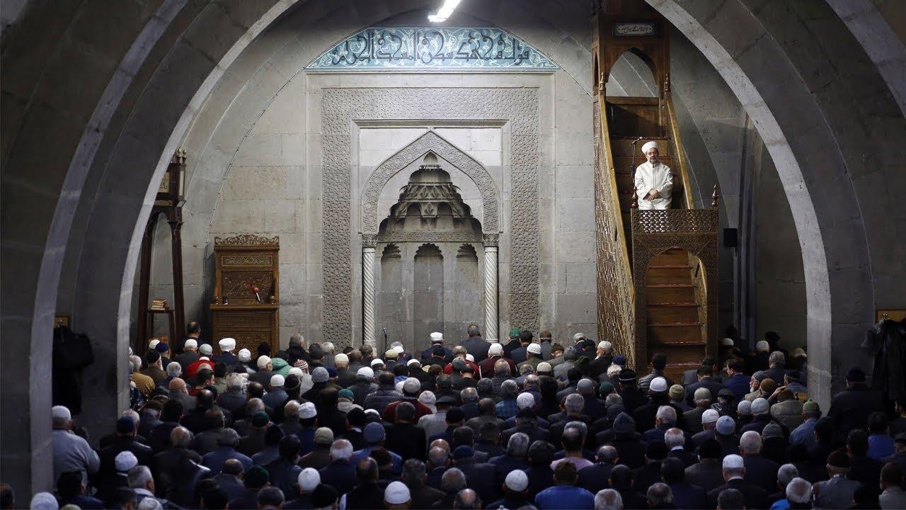 Kayseri Hunat Camii I Cuma Hutbesi I 25.11.2016