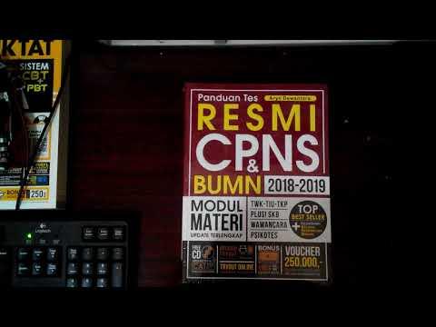 Buku Panduan Tes RESMI CPNS DAN BUMN 2018-2019