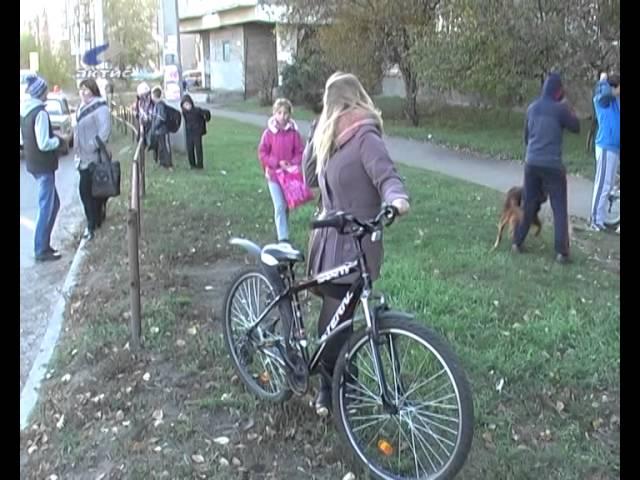 Рядом с переходом сбит ребенок на велосипеде