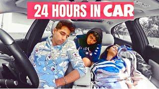 LIVING IN MY CAR FOR 24 HOURS Challenge | Rimorav Vlogs