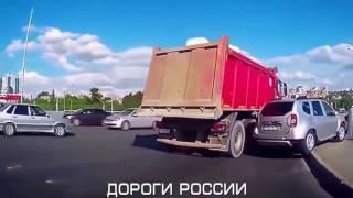 """Жестокие ДТП грузовиков и фур на трассе"""""""