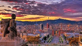 Barcelona in One Minute complete Tour
