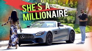 GOLD DIGGER WAS A MILLIONAIRE