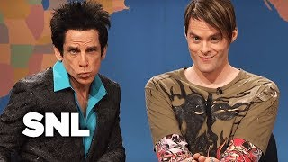 Weekend Update: Stefon and Derek Zoolander (Ben Stiller) on Autumn's Hottest Tips - SNL