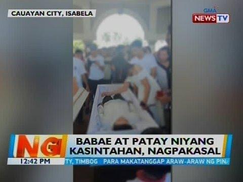 [GMA]  Babae at patay niyang kasintahan, nagpakasal