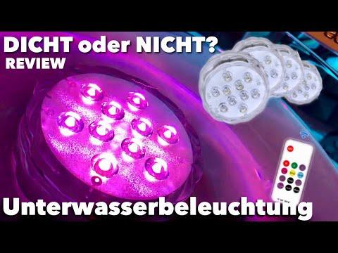 Qoolife Unterwasser LED Beleuchtung im Test - DICHT oder Nicht ?!?