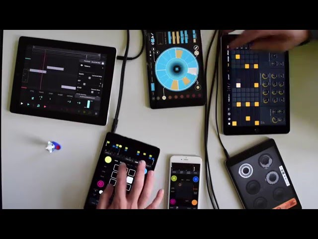 Beat Jam with Ableton Link: Triqtraq, Elastic Drums, Fugue Machine, Loopy, Audiobus & Patterning