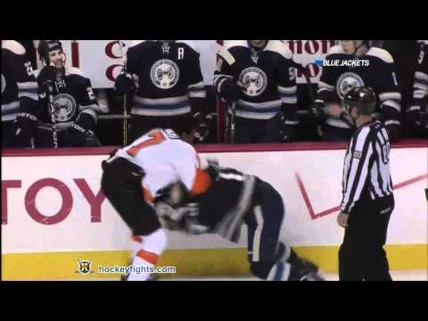 Derek Dorsett vs Wayne Simmonds