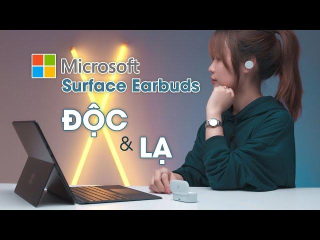 Microsoft Surface Earbuds: Tai nghe không dây ĐỘC & LẠ