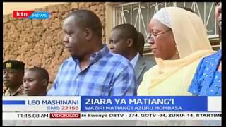 Kaimu Waziri wa Elimu Fred Matiang'i azuru shule ya Mama Ngina, Mombasa