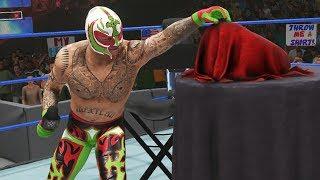 REY MYSTERIO & PAIGE UNVEIL MEXICAN CHAMPIONSHIP!   WWE 2K19 Universe Mods