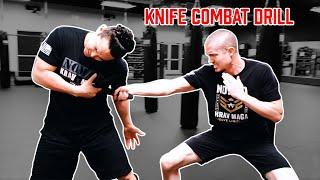 Knife Combat Drill – FMA and Krav Maga Integrated