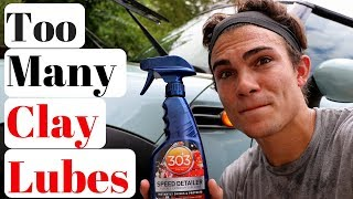 What Is The Best Clay Bar Lubricant? It May Surprise You...