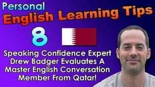 English Speaking & Fluency Tips 8 - English Pronunciation Tips for Arabic Speakers