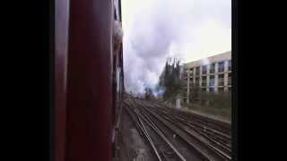 preview picture of video 'Steam Selhurst-East Croydon-Purley 2 Black 5's 23/12/14'