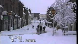 Dumfries winter snow 1996