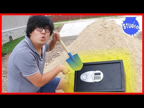 We Found an Abandoned Safe buried!!! What's inside???