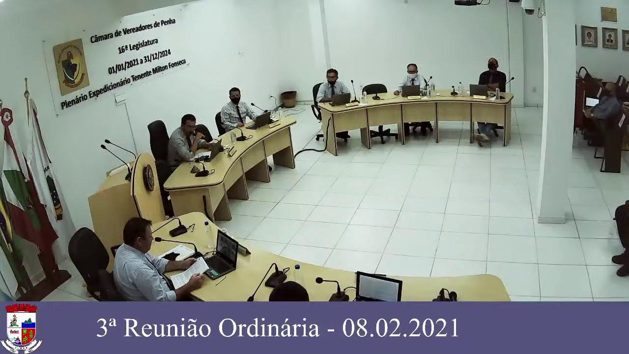 3ª Reunião Ordinária - 08/02/2021