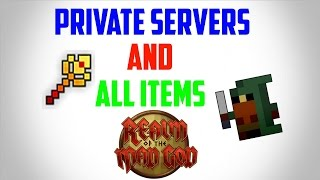 Rotmg: Private Servers  All Items (2017) ONLINE