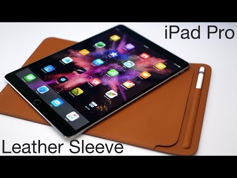 iPad Pro Leather Sleeve - Apple's Most Expensive Case