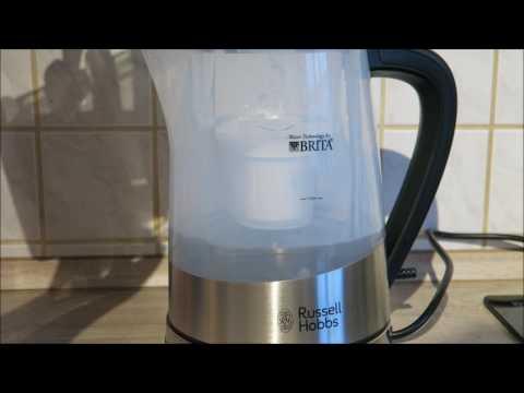 Russell Hobbs Purity Wasserkocher - mit Brita Wasserfilter - Test