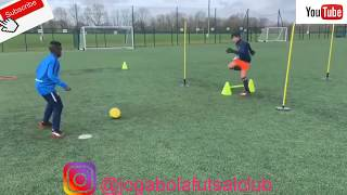 FULL group Training | Private Master Class | Jogabola | 4 Players | Gym & Ball Masterclass