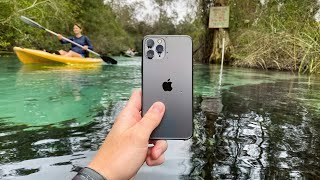 I Found a Lost iPhone 11 Pro Underwater That Was Still Working! (Returned Lost iPhone to Owner)