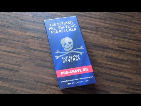 Rasur - Pur ! Rasieröl Bluebeards Pre Shave Oil Vorstellung Test Review Nassrasur Rasiermesser