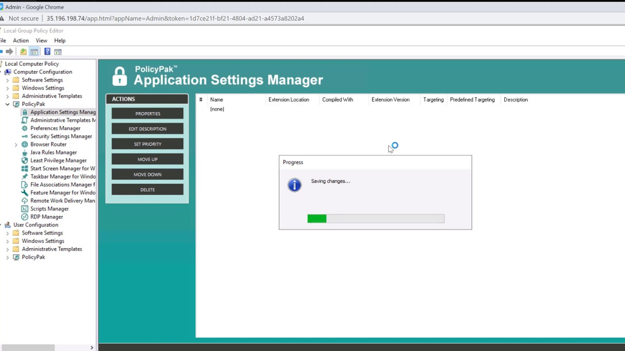Cameyo and PolicyPak Application Settings Manager