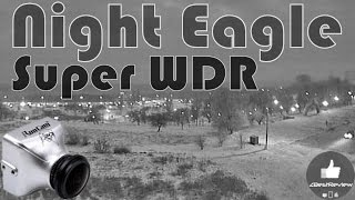 ✔ FPV Камера - RunCam Night Eagle, WDR 800TVL, Black & White! Day and Night Test!