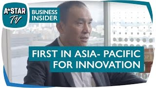 Singapore: First in Asia-Pacific for Innovation