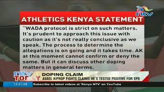 Kiprop speaks on 'failed drugs test' reports - VIDEO