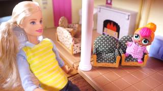 BARBIE Is Having Her Baby And LOL SURPRISE DOLLS Get EXCITED!