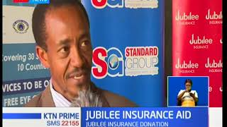 Jubilee insurance donates 28 spectacles to pupils of Kilimani primary school