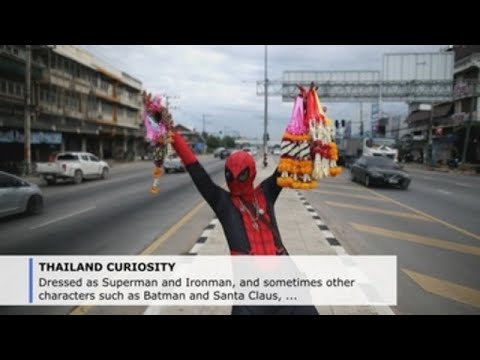 The Thai superheroes stopping traffic
