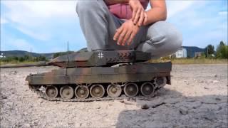 RC Squadron - Tamiya Leopard 2 und Pershing