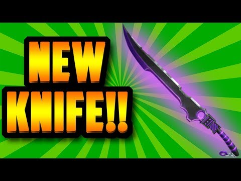 *EPIC* NEW TECHNO EXOTIC KNIFE!! [UPDATE] (ROBLOX ASSASSIN) - NO_DATA
