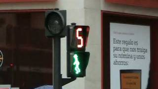 Crosswalk signal in Spain