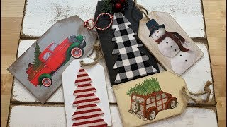 DIY Faux Wood Tags Using Puzzle Trees & Greeting Cards (59)