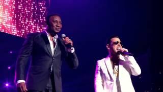 Tito 'El Bambino-Miénteme (Ft. Anthony Santos) Live Video In Puerto Rico