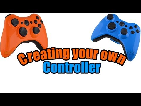 How to Put a Custom Xbox 360 Controller Shell Together
