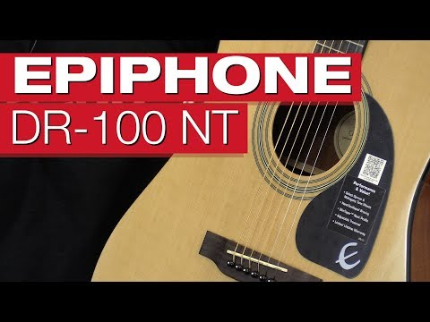 Epiphone DR-100 (Einsteiger Akustik-Gitarre um 100€)